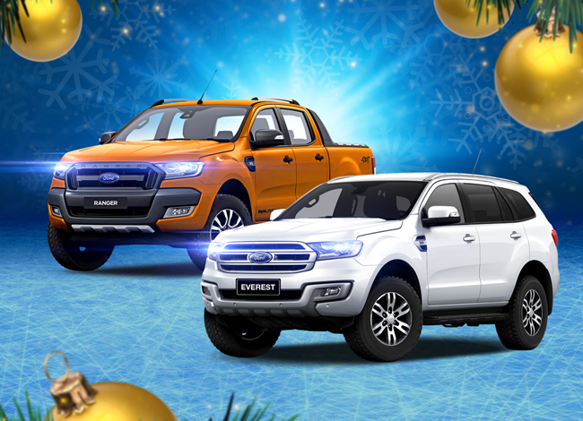 Win A Ford Ranger and Everest