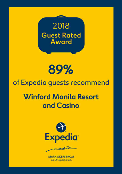 Expedia – Guest Rated Award 2018 – Guest Recommend