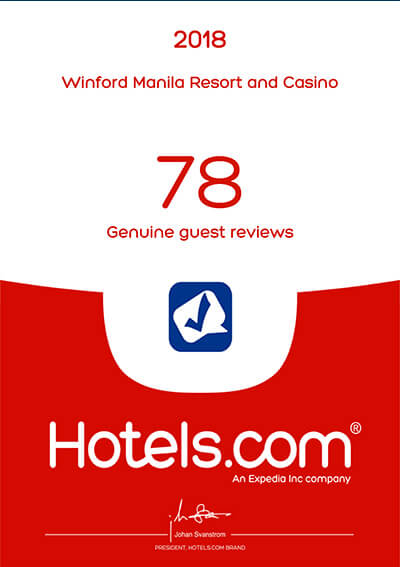 Hotels.com – 78 Genuine Guest Reviews 2018