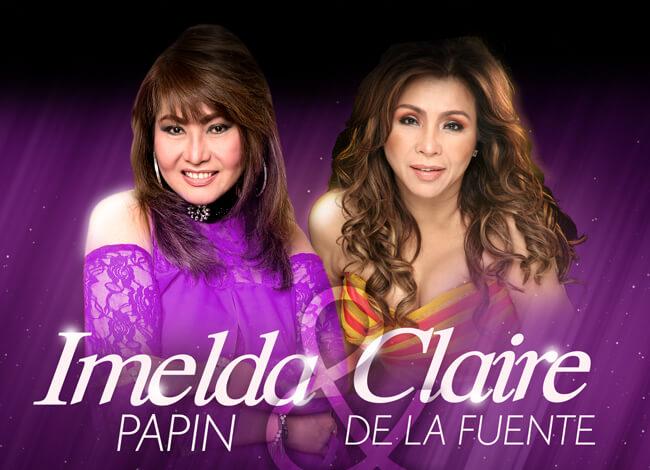 Imelda Papin & Claire Dela Fuente