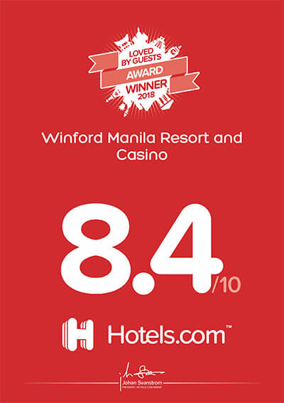 Hotels.com – Loved By Guest Award 2018