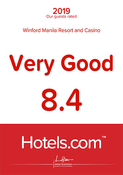 Hotels.com – Our Guest Rated Excellent 2019