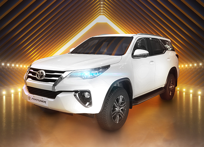 Win A Fortuner